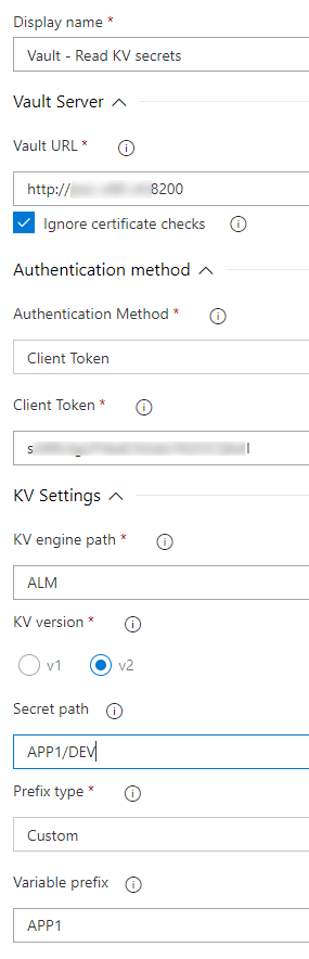 Azure DevOps configuation 1